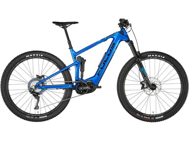 FOCUS Jam² 9.6 Nine E-MTB fullsuspension blå (2019) | Mountainbikes